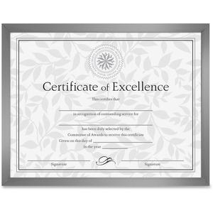 DAX U-Channel Certificate Frame - 11