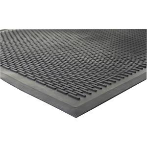 Genuine Joe Clean Step Scraper Floor Mats - Outside Entrance, Outdoor - 72