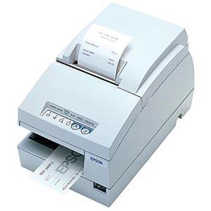 Epson TM-U675 Dot Matrix Receipt Slip & Validation Printer USB Epson Cool White No Micr No Au