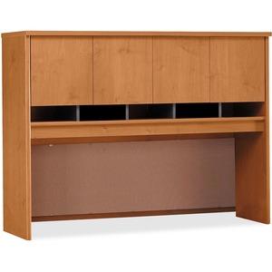 Bush Business Furniture Series C60W Hutch 4 Door in Natural Cherry - 58.9