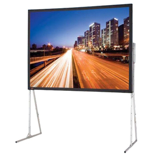 DRAPER LTIMATE FOLDING SCREEN COMPLETE WITH STANDARD LEGS 220 HDTV CINEFLEX C