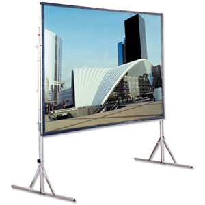 Draper Cinefold Portable Projection Screen - 83inx 144in- Cineflex - 161inDiagonal
