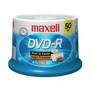 Maxell 16x DVD-R Media 638022