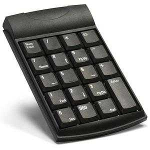 Unitech, K19 Keyboard, 19 Keys, USB, Black