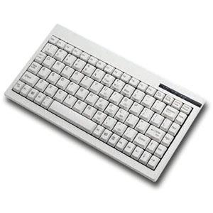 ACECAD SOLIDTEK KB-595P(ACK-595P) PS/2 MINI PORTABLE KB POS/RACK MT WHITE