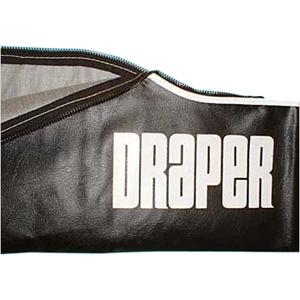 Draper Carrying Case for Diplomat/R 104inand 10ft Projection Screen - Vinyl - Black