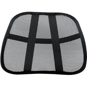 Fellowes Office Suites Mesh Back Support - Ventilation-Comfortable-Cushioned - 17.8inx 5