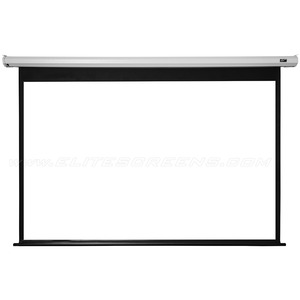 """Elite Screens Electric100V Spectrum Ceiling/Wall Mount Electric Projection Screen (100"""" 4:3 Aspect Ratio) (MaxWhite)"""