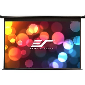 """Elite Screens Electric84H Spectrum Ceiling/Wall Mount Electric Projection Screen (84"""" 16:9 Aspect Ratio) (MaxWhite)"""