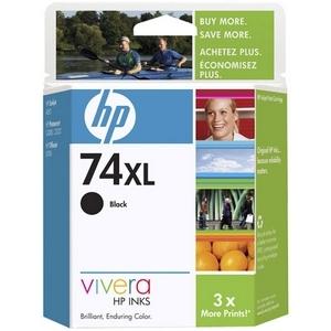 HP INC. - INK NO 74XL BLACK INKJET PRINT CART 18ML