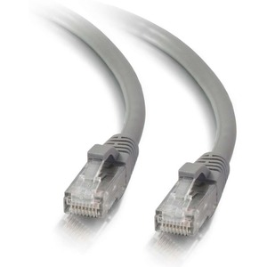 200ft Cat5e Snagless Unshielded (UTP) Network Patch Cable   Gray