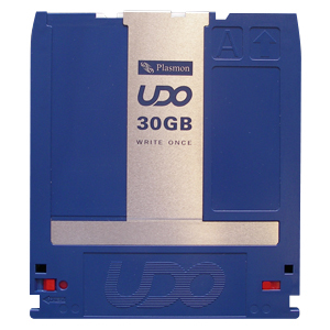 5-PACK UDO 30 GB COMPLIANT WRITE ONCE WITH BARCODE