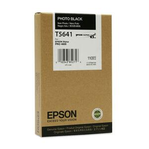 Epson T605100 110 ml Photo Black UltraChrome Ink Cartridge