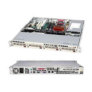 Supermicro SuperChassis SC813MTQ-280CB Computer Case CSE-813MTQ-280CB - Large
