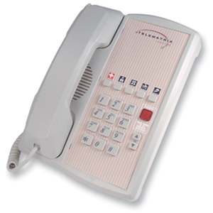 DuVoice Telematrix Marquis 2800 Series 2800MW5 Single Line Phone - 1 x Phone Line(s) - 1 x