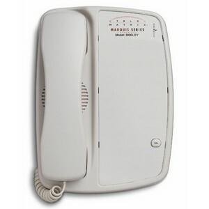 DuVoice 3000LBY Single Line Lobby Telephone - 1 x Phone Line(s) - 1 x Data-1 x Headset - A
