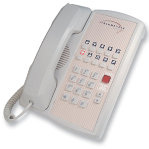 DuVoice Telematrix Marquis 2800 Series 2800MW10 Single Line Phone - 1 x Phone Line(s) - 1