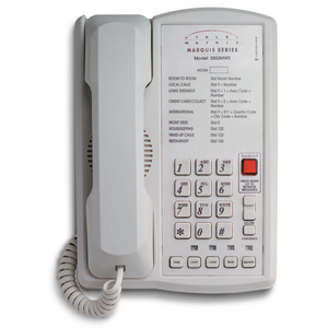 DuVoice 2802MWS Two Line Speakerphone Basic - 2 x Phone Line(s) - 1 x Data - Ash