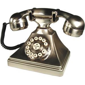 DuVoice Retro Desk Single Line Hospitality Telephone - 1 x Phone Line(s) - 1 x RJ-14 Heads