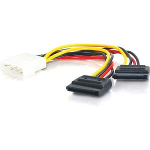 C2G 6in Serial ATA Dual Power Splitter Cable