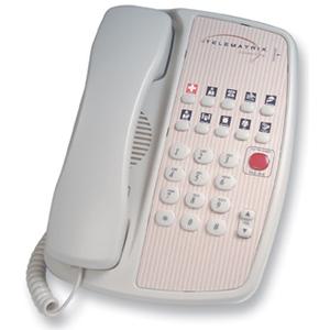 DuVoice Telematrix Marquis 3000MW10 Basic Phone - 1 x Phone Line(s) - 1 x Data - Ash