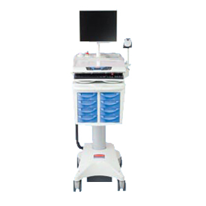 Rubbermaid Medical Solutions Mobile Medication Cart for Self Power Devices 9M39R8L00
