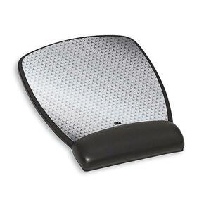 3M Gel Mouse Pad - 0.75inx 6.75inx 8.50inDimension - Black - Gel - 1 Pack