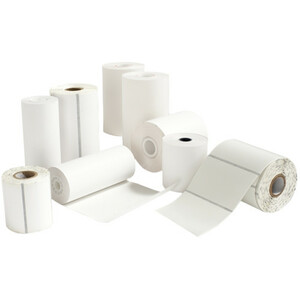Printek Direct Thermal Receipt Paper - A6 - 4 9/64inx 5 53/64in- 36 Pack