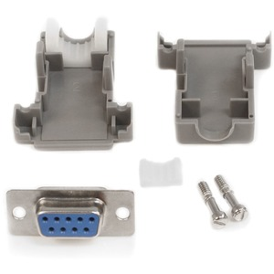 STARTECH ASSEMBLED DB9 FEMALE SOLDER D-S UB CONNECTOR WITH PLASTIC BACKSHELL
