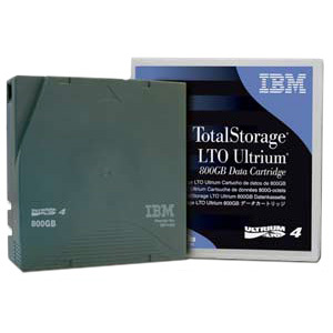 IBM Data Cartridge LTO-4 - 5 Pack - 800 GB (Native) / 1.60 TB (Compressed)