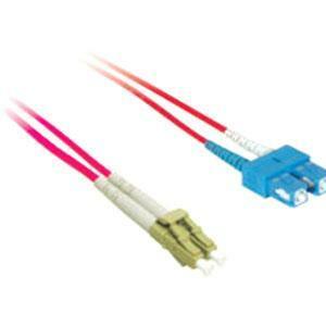 5m LC/SC DUPLEX 9/125 SINGLEMODE FIBER PATCH CABLE - LC single mode - Male - SC-