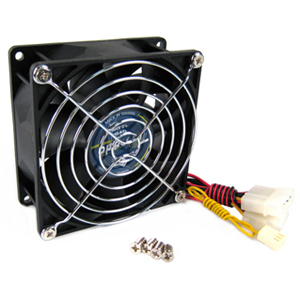 Vantec Tornado Case Fan 80mm 5700RPM 84.1CFM 55.2DBA Dual Ball Bearing