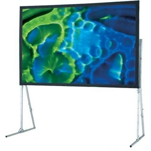 Draper Ultimate Folding 241009 Portable Projection Screen - 67inx 91in- 112inDiagonal