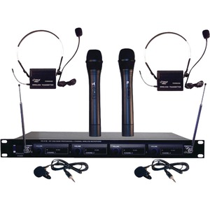 Pyle PDWM4300 Wireless Microphone System - Large
