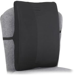 Safco Remedease Full Height Backrest - Strap Mount - Black