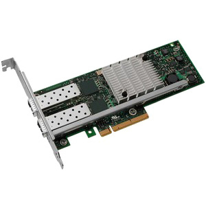 Intel Server Network Adapter Dual Port 10 Gigabit Ethernet PCI Express 2.0 X8 Low Profile
