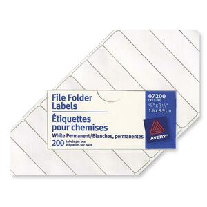 Avery File Folder Label 07200