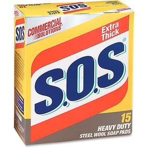 S.O.S Heavy-duty Soap Pad (Price Per Box) 98026
