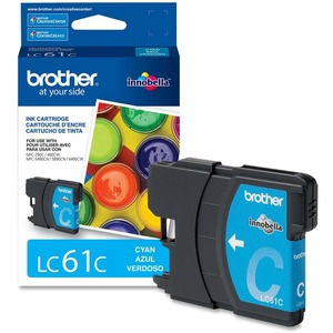 Brother LC-61 Cyan Ink Cartridge (LC61CS)