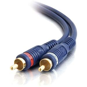 C2G 35ft Velocity RCA Stereo Audio Cable