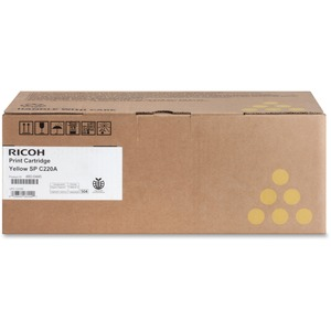 RICOH AIO YELLOW TONER FOR THE RICOH AFICIO SPC220N SPC220S SPC221N SPC221SF SPC222DN