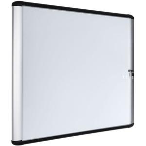 MasterVision Swing Door Enclosed Dry-erase Board - 39