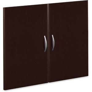 Bush Business Furniture Series C Half-Height 2 Door Kit in Mocha Cherry - 35