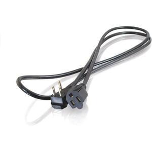 6FT 18 AWG FLAT PLUG POWER STRIP PLUS (NEMA 5-15P TO NEMA 5-15R)