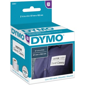 DYMO Name Badge With Clip Hole - Labels - name badge labels