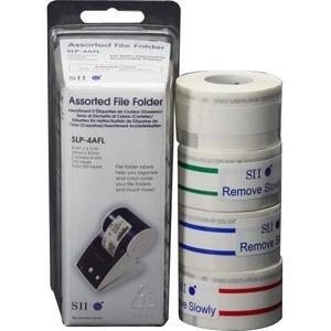 Seiko Assorted File Folder Labels