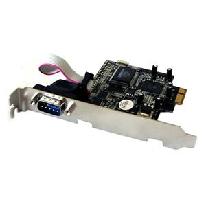 Bytecc BT-PE1S 1-port PCI Express Serial Adapter - 1 x 9-pin DB-9 Serial