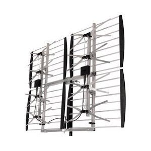 Digiwave ANT-7286 | Super 8 Bay Ultra Clear Outdoor HD TV Digital Antenna | Range: Up to 75 miles or more