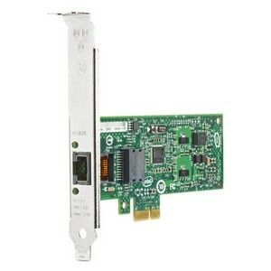HP Network Adapter - PLUG-IN Card - PCI Express x1 - ETHERNET;FAST ETHERNET;GIGABIT