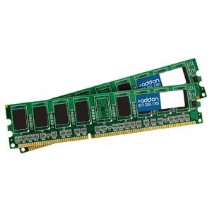 AddOn JEDEC Standard 4GB (2x2GB) DDR3-1333MHz Unbuffered Dual Rank 1.5V 240-pin CL9 UDIMM